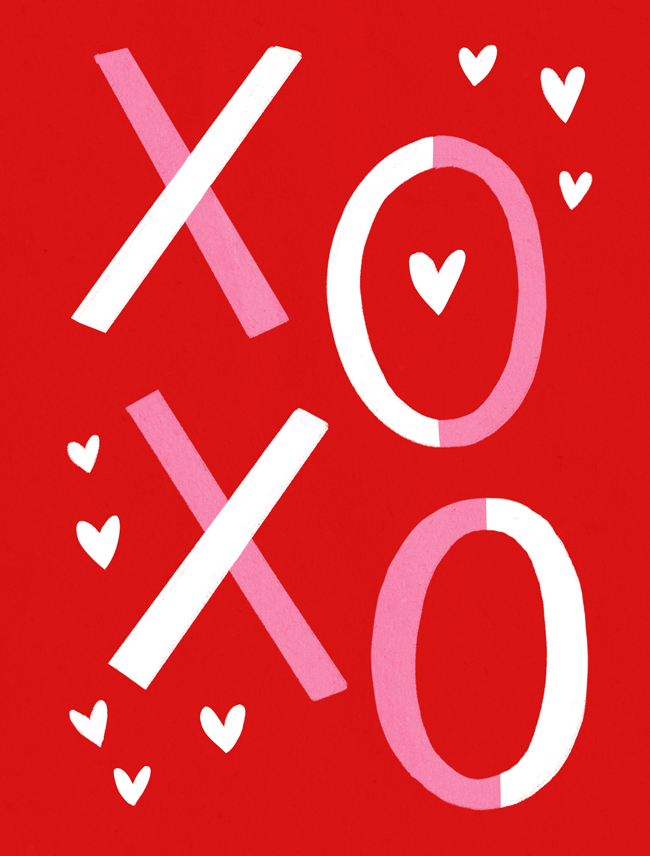DIY Valentines Day Postcards Free Printables The Crafted Life – Valentines Day Post Cards
