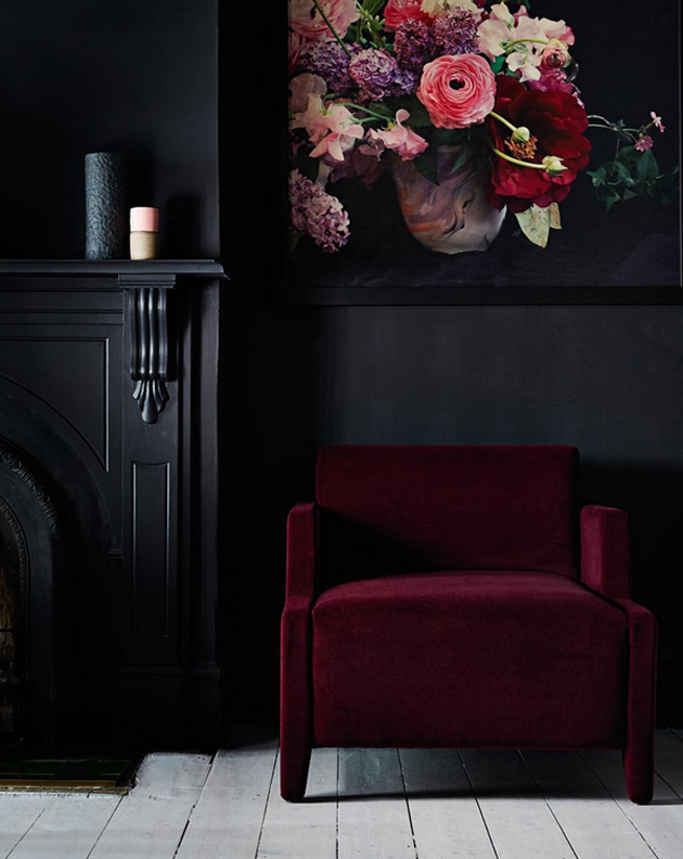 Trend Crush: Dark Interior Paint Colors