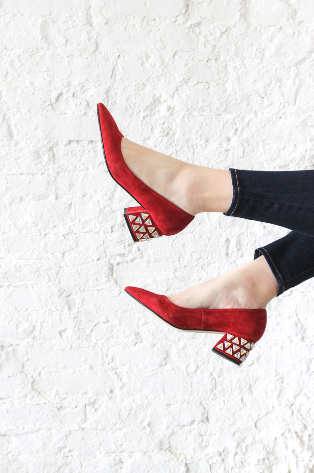 Jazz up your heels with rhinestones in 30 minutes!